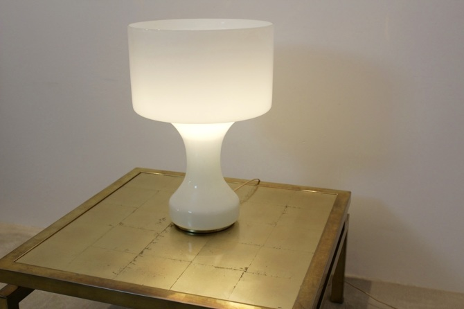 Snow white venini murano glass table lamp mooiestukken mozeypictures Image collections